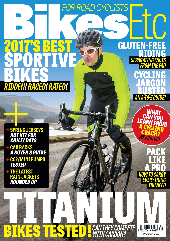Bikes Etc Magazine May 2017 VAARU cover shot