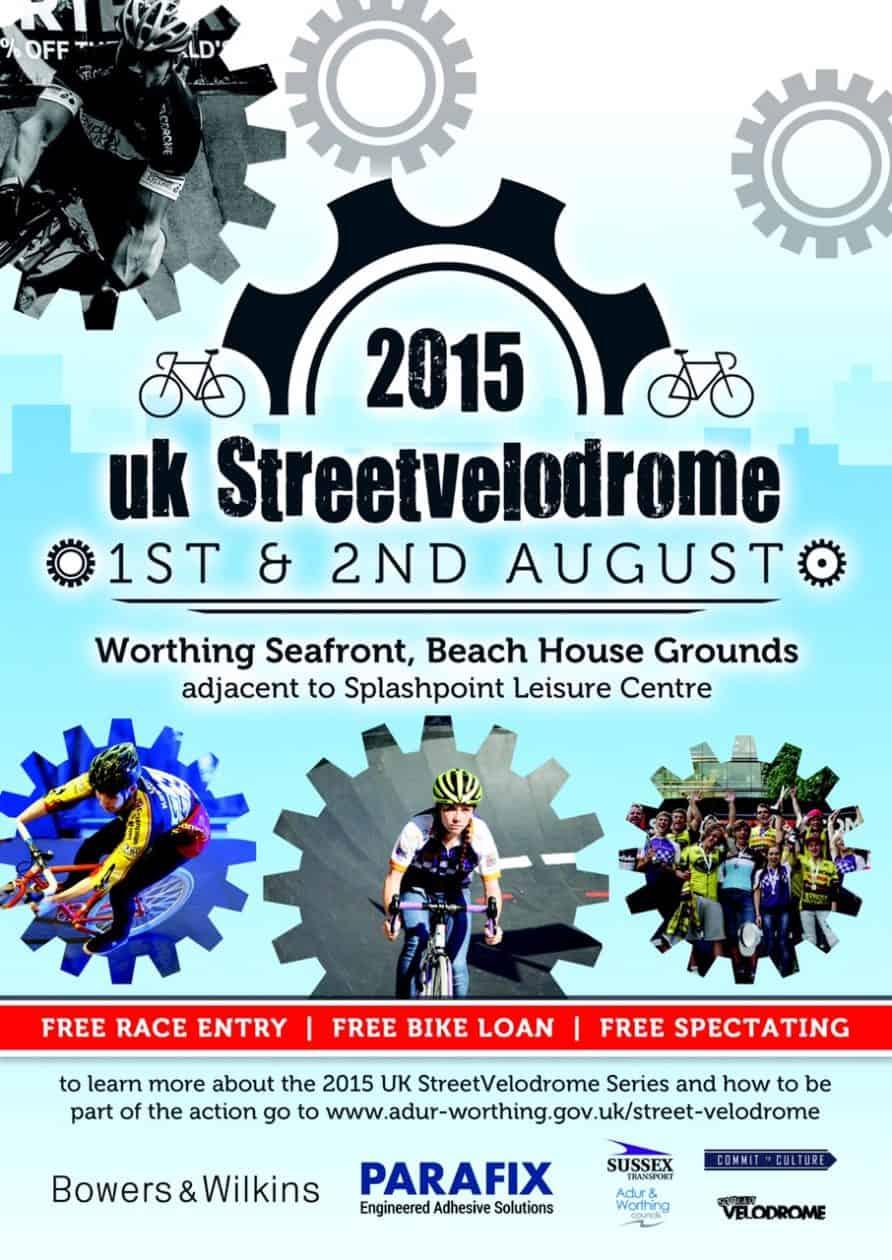 Worthing Street Velo poster
