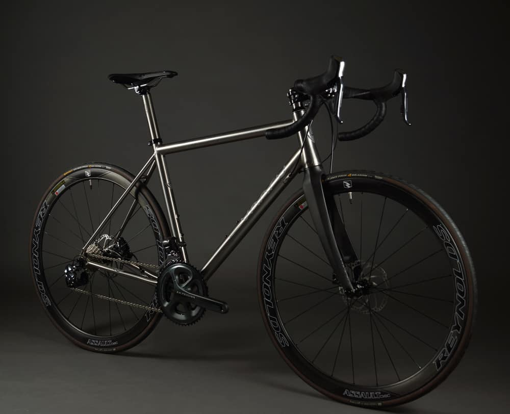 V:8 titanium road bike