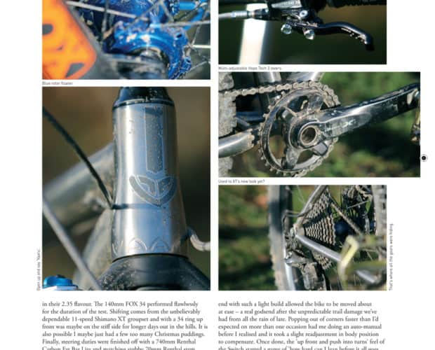 Singletrack Magazine review 650 Switch