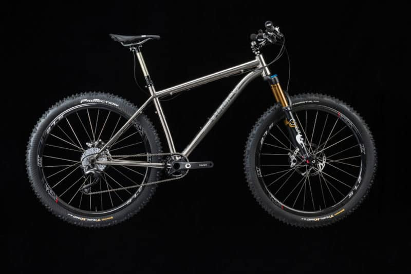 VAARU 650 Switch titanium mountain bike