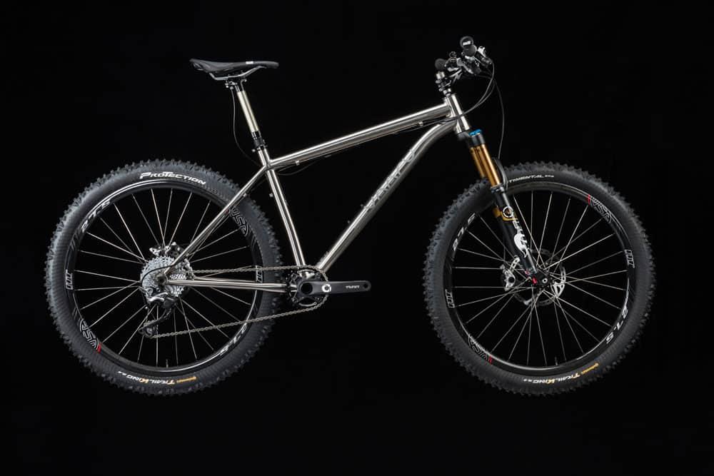 VAARU 650 Switch titanium mountain bike