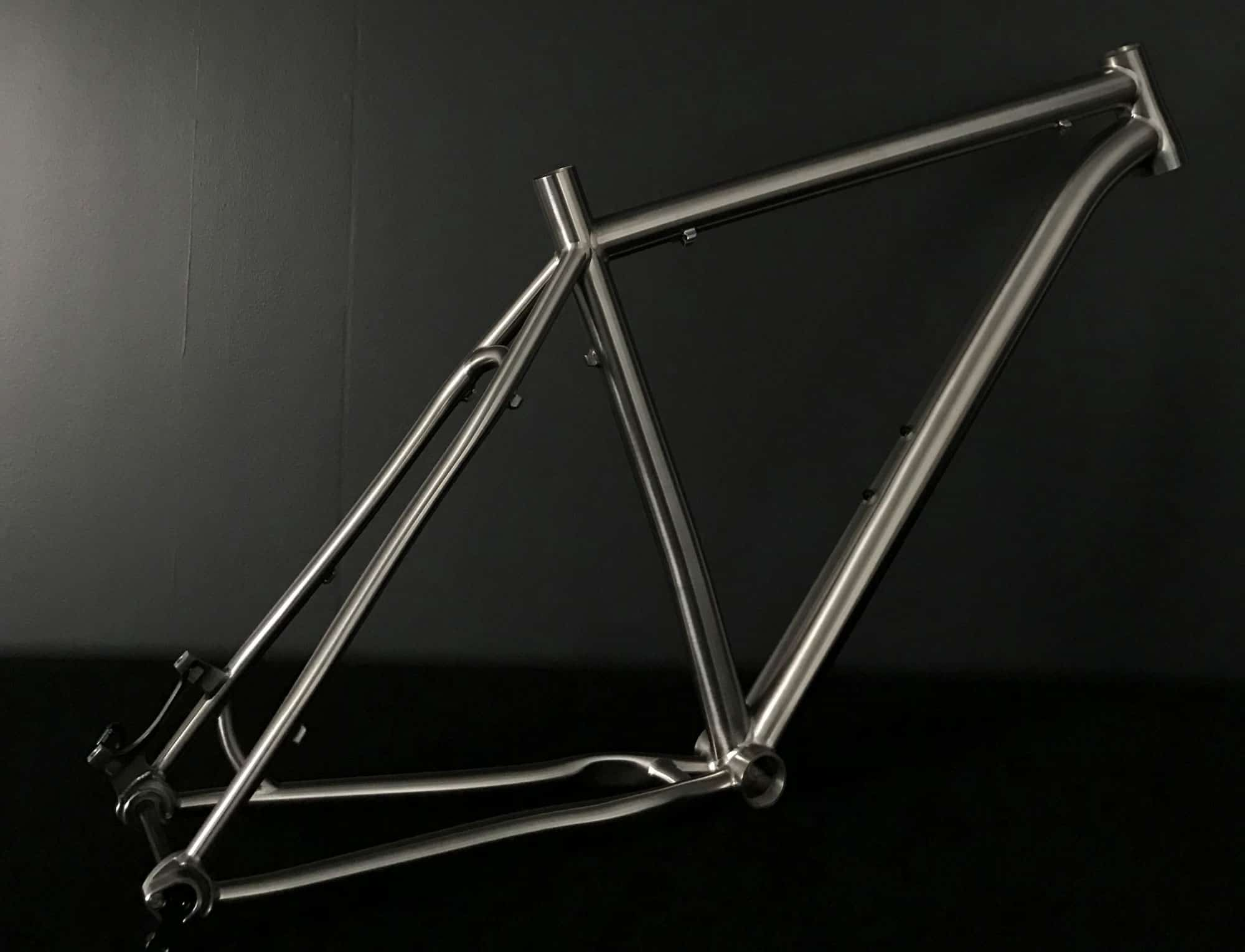24eb611de286 VAARU Cycles 650B Switch Titanium Hardtail Frame