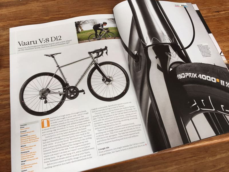 Cyclist Magazine review
