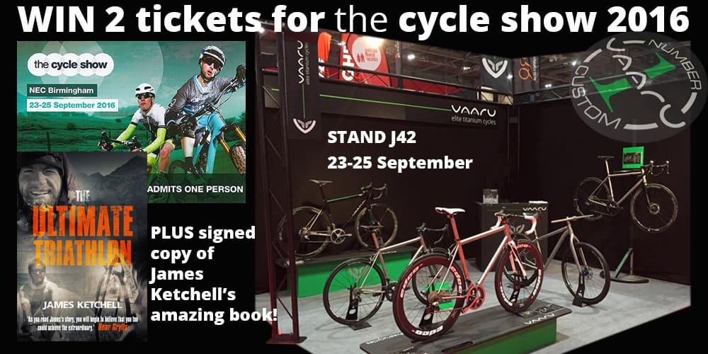 Cycle Show tickets competition