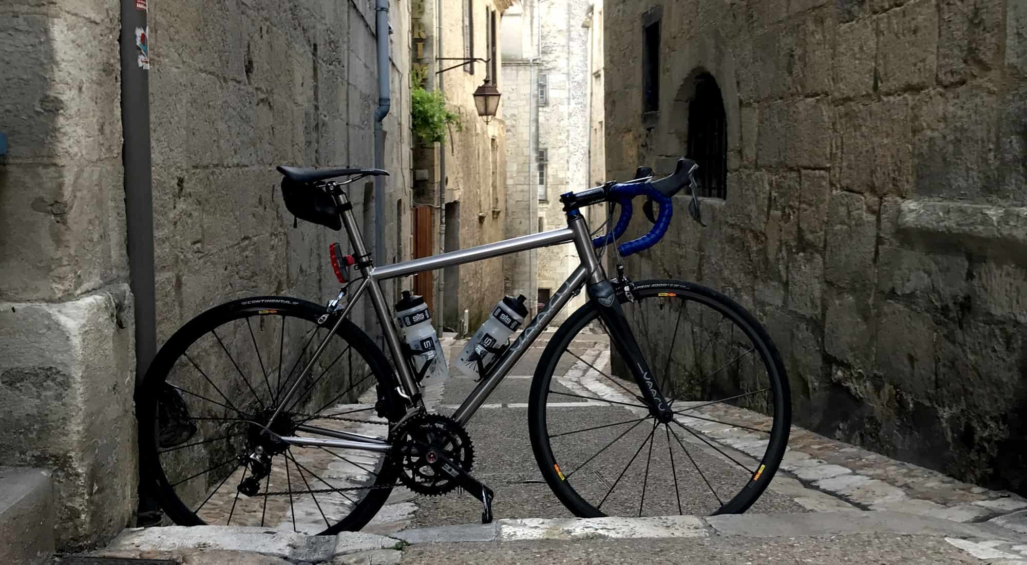 VAARU Cycles | Titanium Road Bike Specialists | U K  Designed