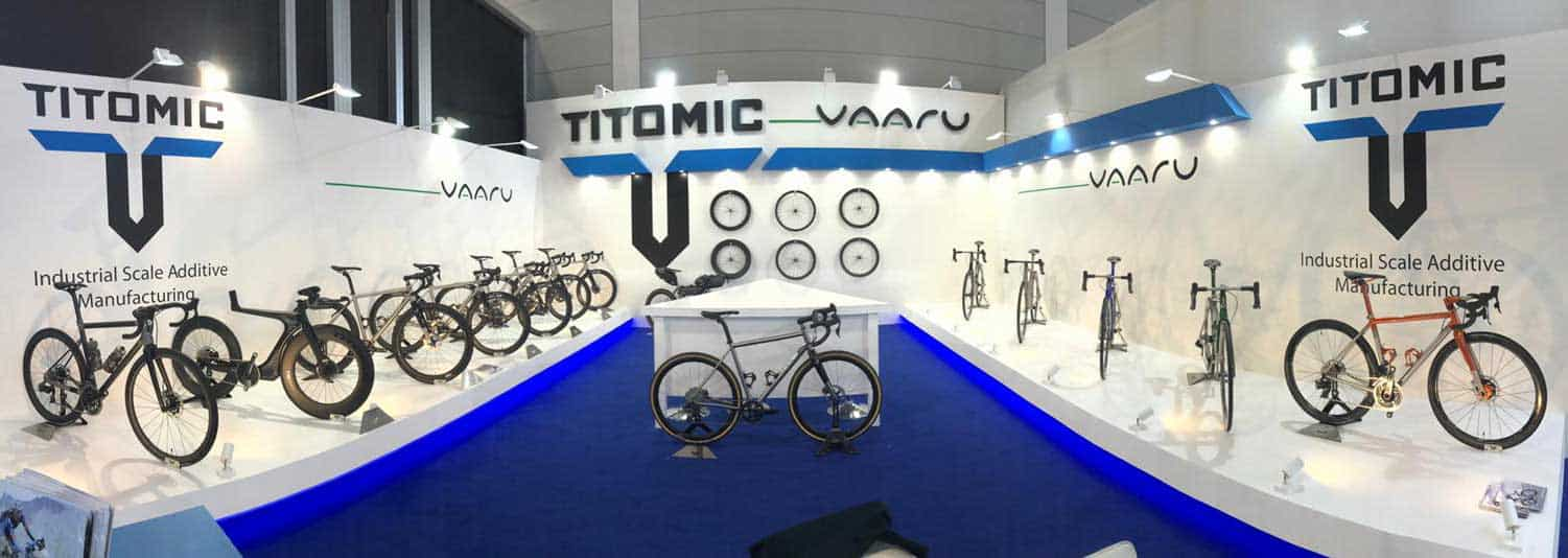 Vaaru Cycles partner with Titomic at Eurobike 2019