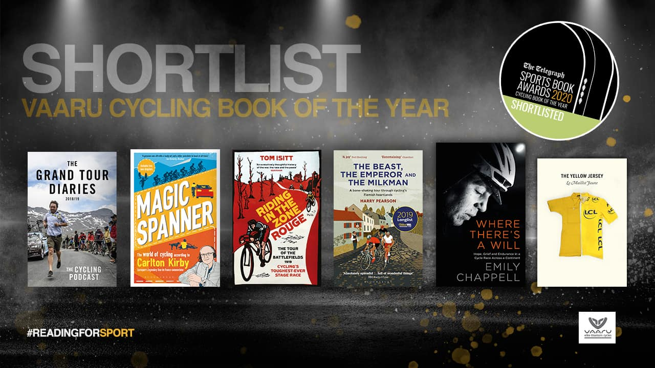 cycling sports book award
